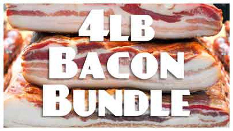 4lb Bacon Bundle