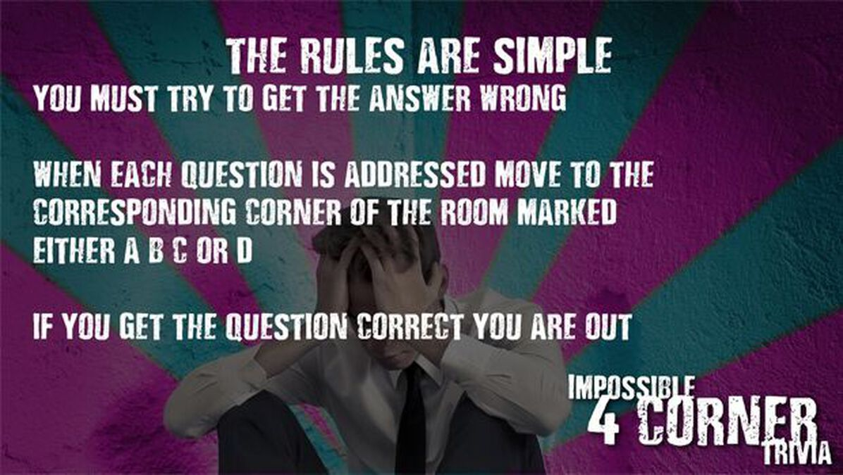 Impossible 4 Corner Trivia image number null