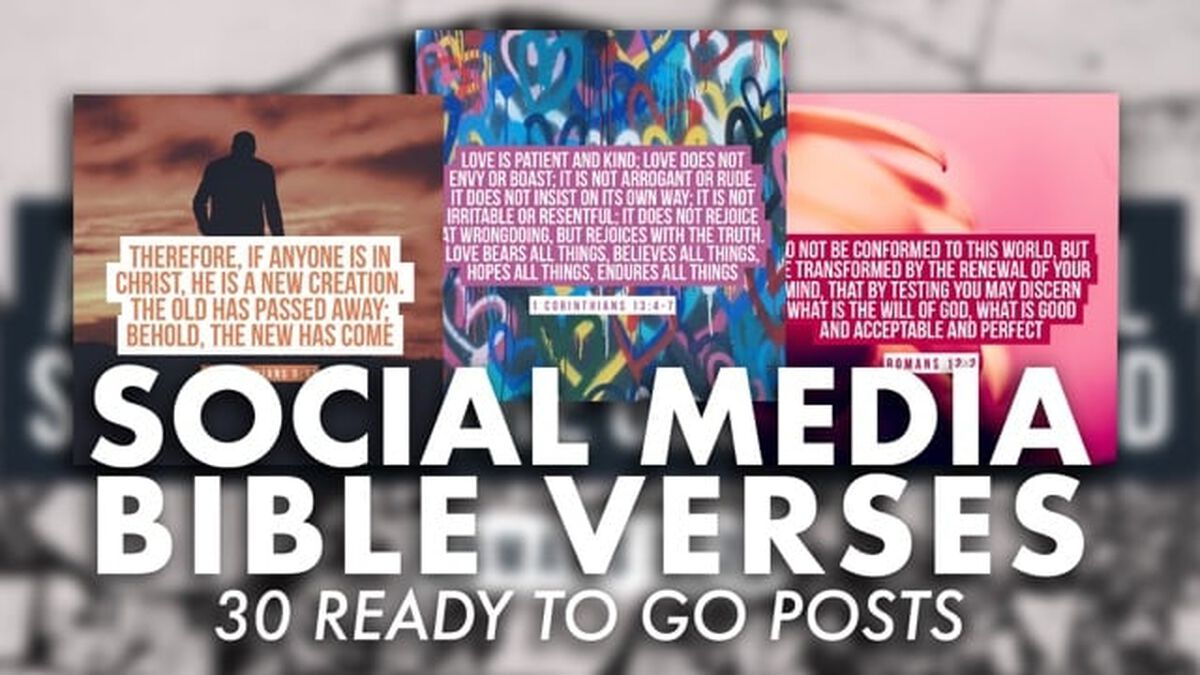 Social Media Bible Verses image number null