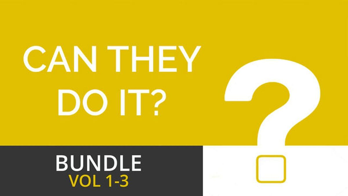 Can They Do It? Bundle Volumes 1-3 image number null