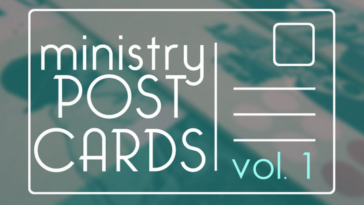 Ministry Postcards Volume One image number null