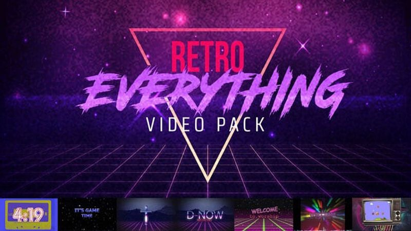 Retro Everything Video 8-Pack