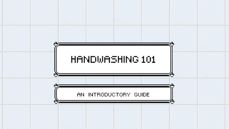FREEBIE: Handwashing 101