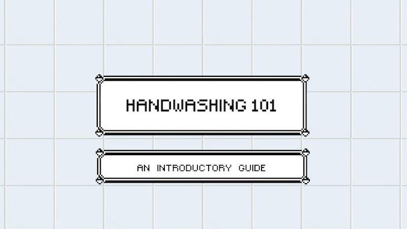 FREEBIE: Handwashing 101