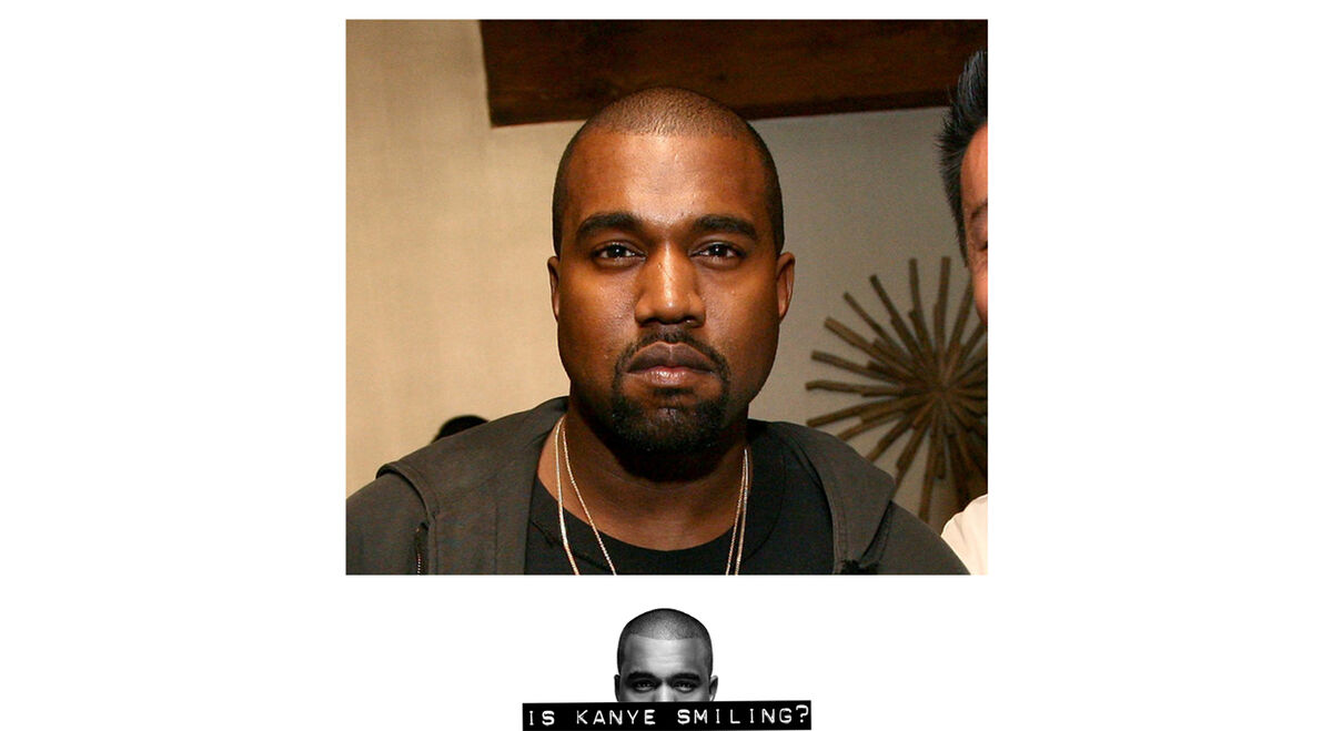 Is Kanye Smiling? image number null
