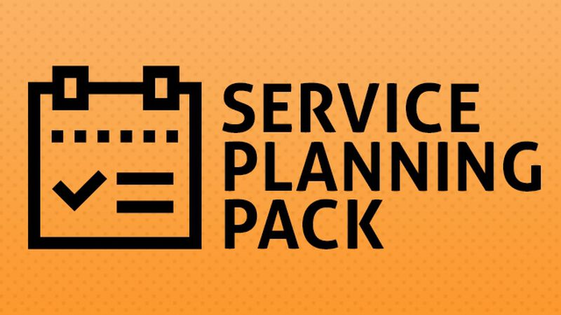 Service Planning Pack