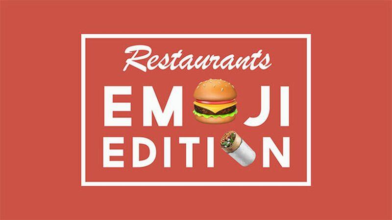 Restaurant Emojis