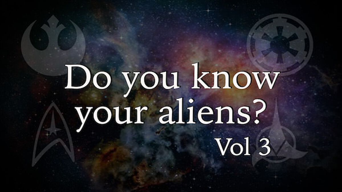 Do You Know Your Aliens Volume 3 image number null
