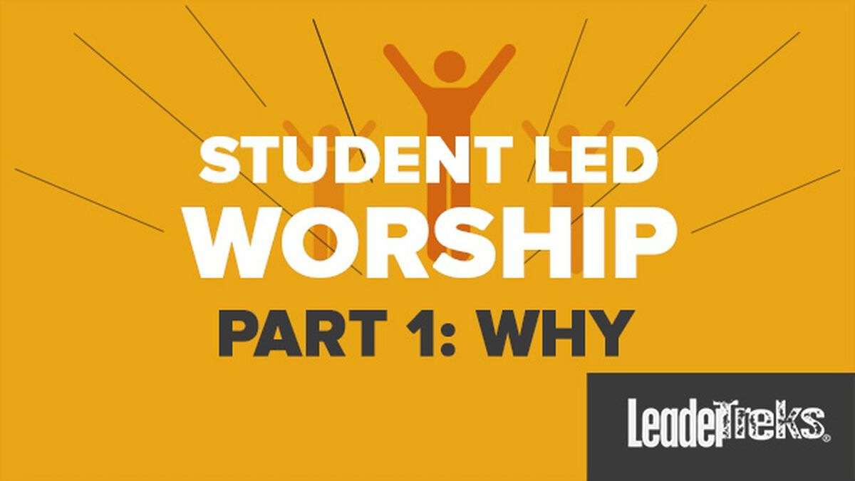 Student Leader Led Worship Part 1 image number null