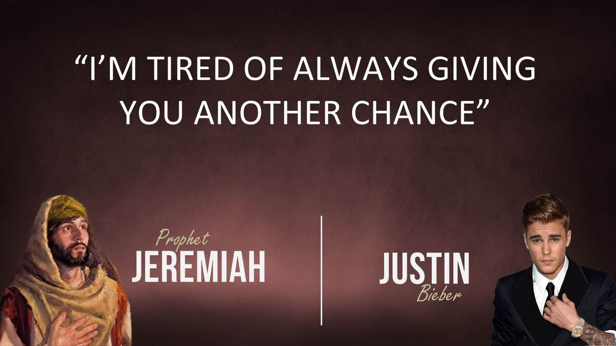 Jeremiah or Justin? Youth Group Game image number null