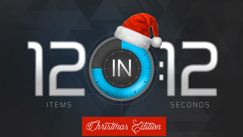12 in 12: Christmas Edition!