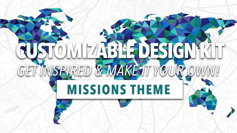 Customizable Design Kit: Missions Theme