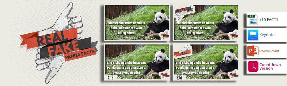 Real or Fake: Panda Facts