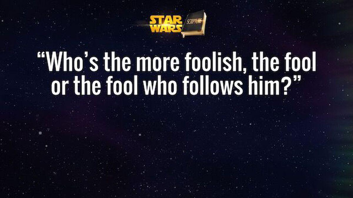 Star Wars or Scripture? Volume 1 (Episodes IV-VI) image number null