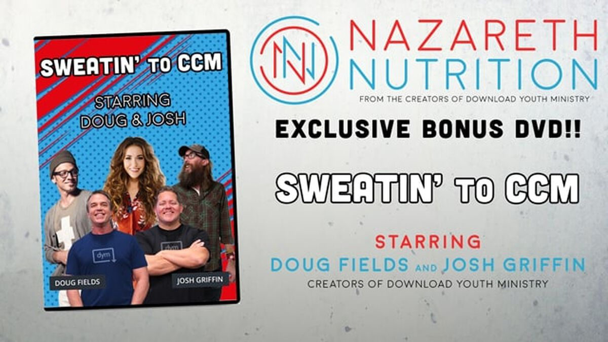 Doug & Josh's Sweatin' to CCM! A Nazareth Nutrition™ exclusive image number null