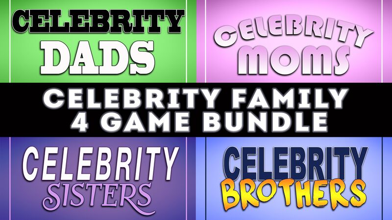 Celebrity Family Game Bundle