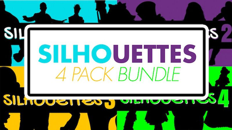 Silhouettes 4-Pack Bundle