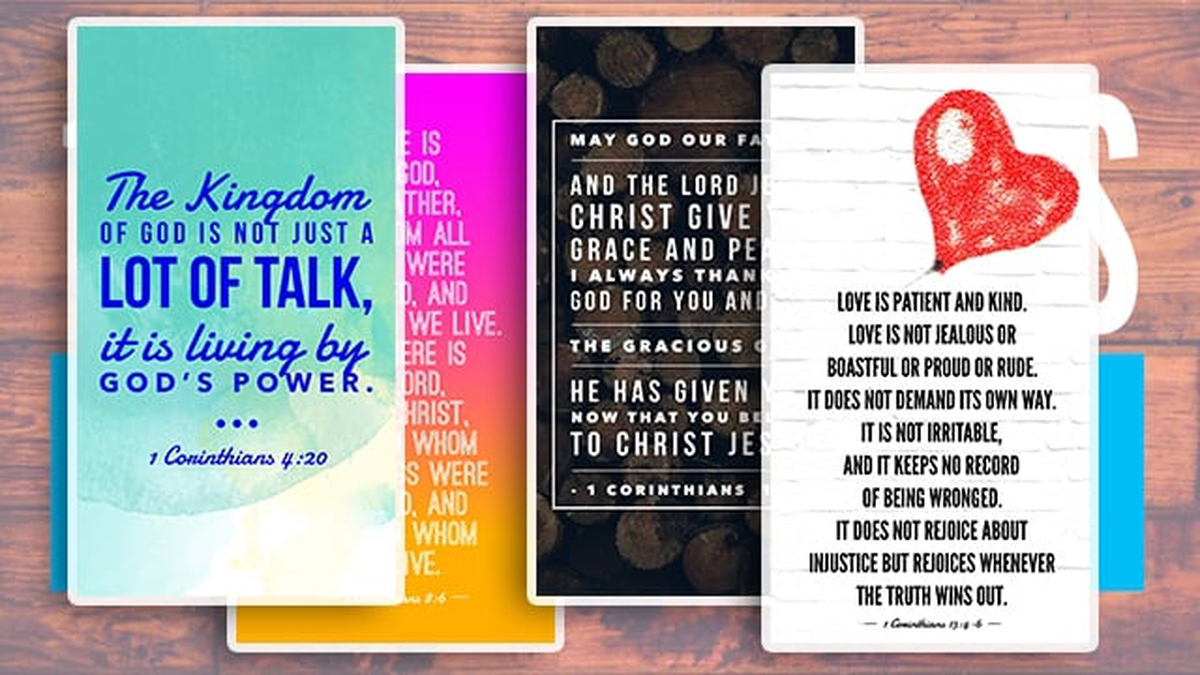 1 Corinthians Bible Verses for Instagram/Snapchat Stories image number null