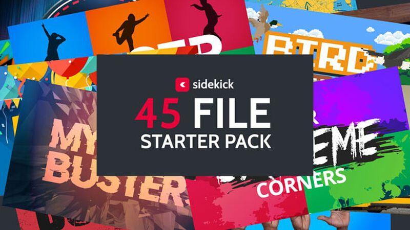 Sidekick 45 File Starter Pack