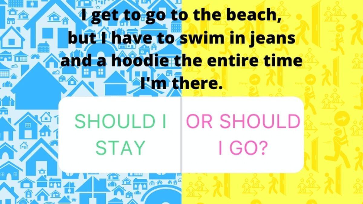 Should I Stay, or Should I Go? Game image number null