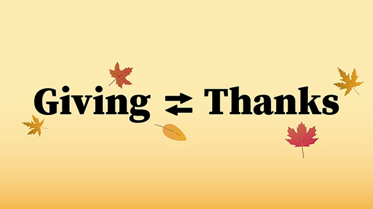 Giving Thanks image number null