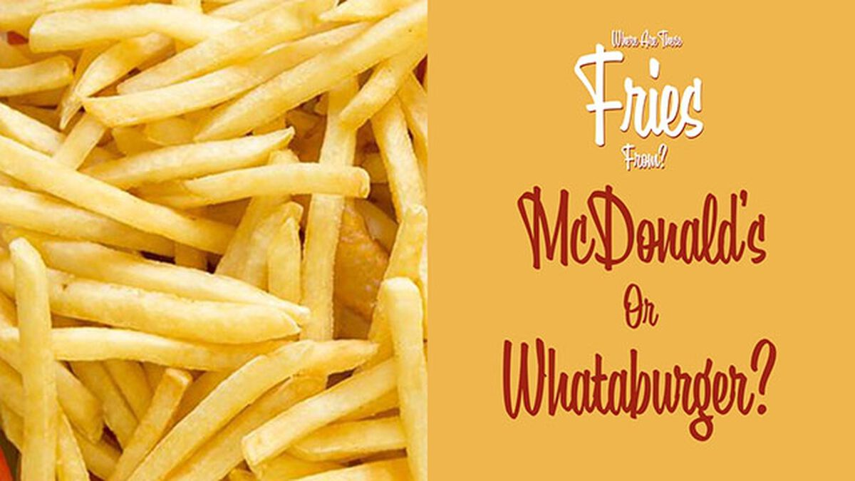 Where Are These Fries From? (July 13th, National French Fry Day) image number null
