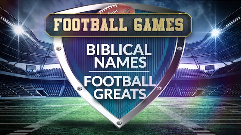 Biblical Names & Football Greats