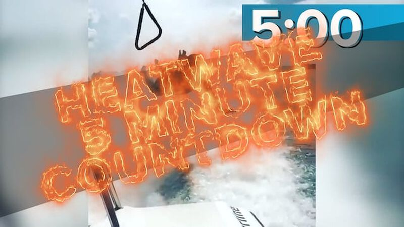 Heatwave Countdown