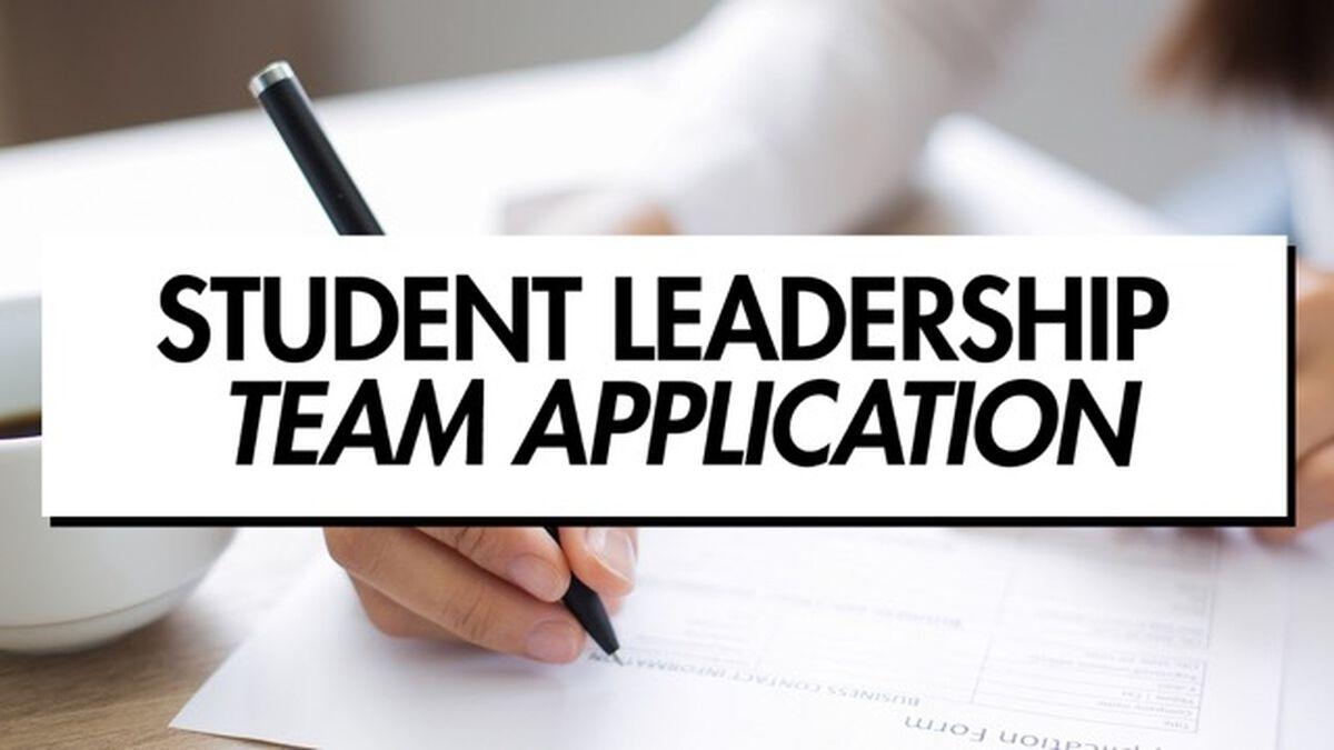 Student Leadership Team Application & Forms image number null