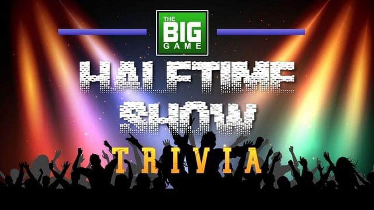 The Big Game Halftime Show Trivia image number null