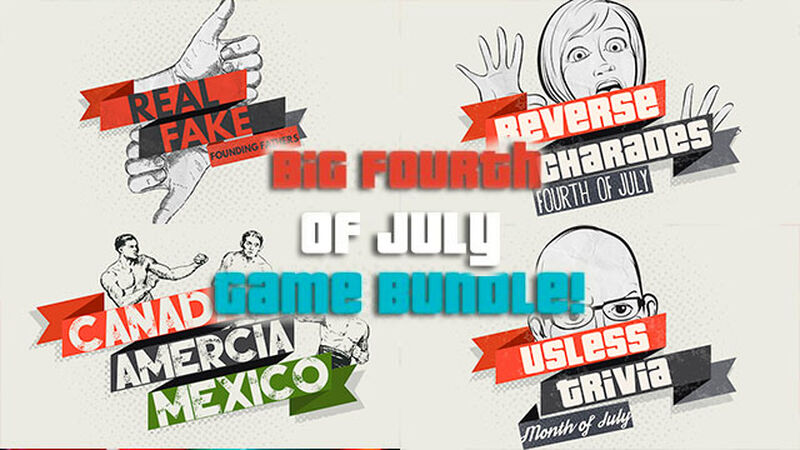 4th of July Celebration Game Bundle