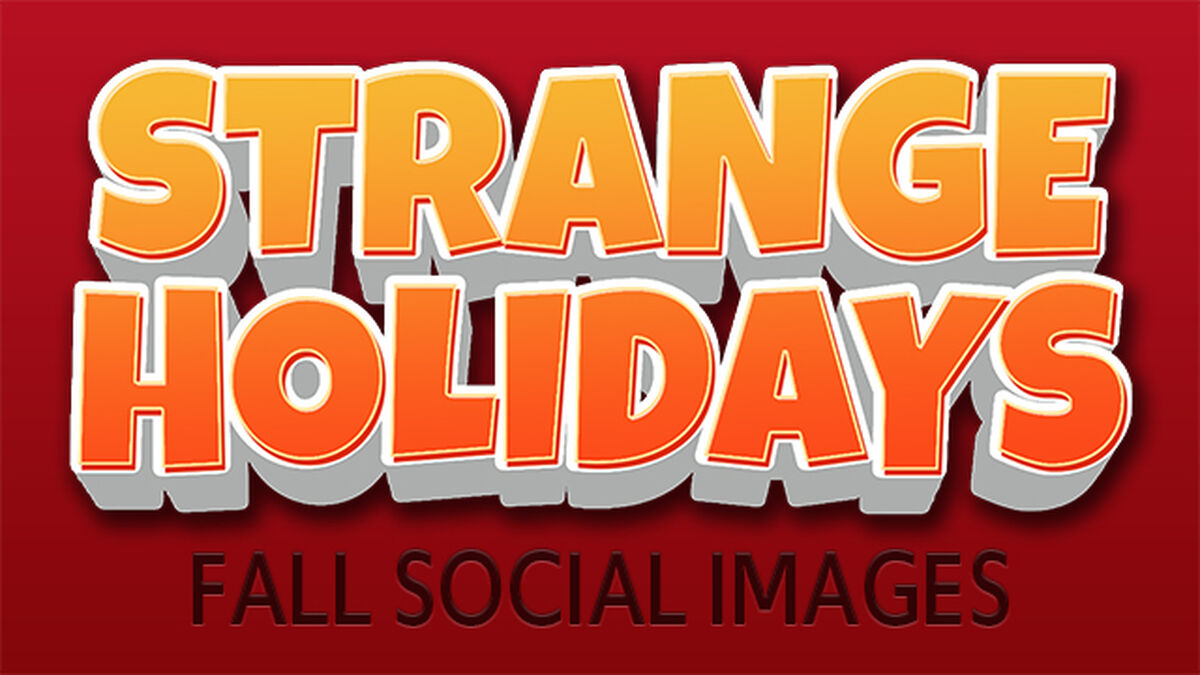 Strange Holidays Fall Edition image number null