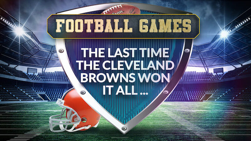 The Last Time the Cleveland Browns Won...