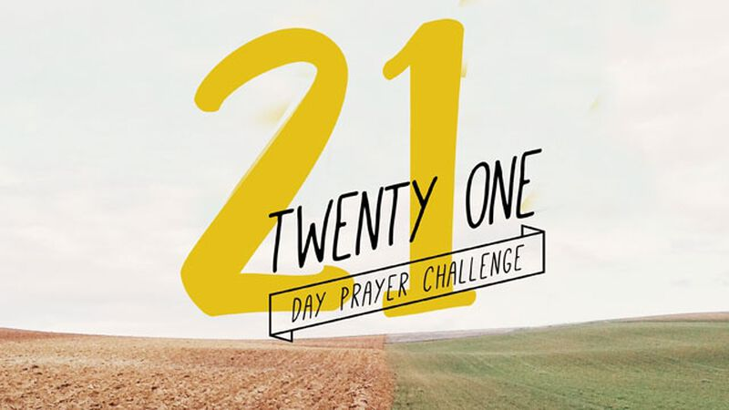 The 21-Day Prayer Challenge
