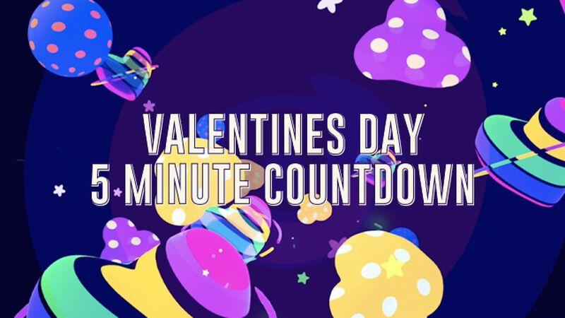 Valentine's Countdown Videos