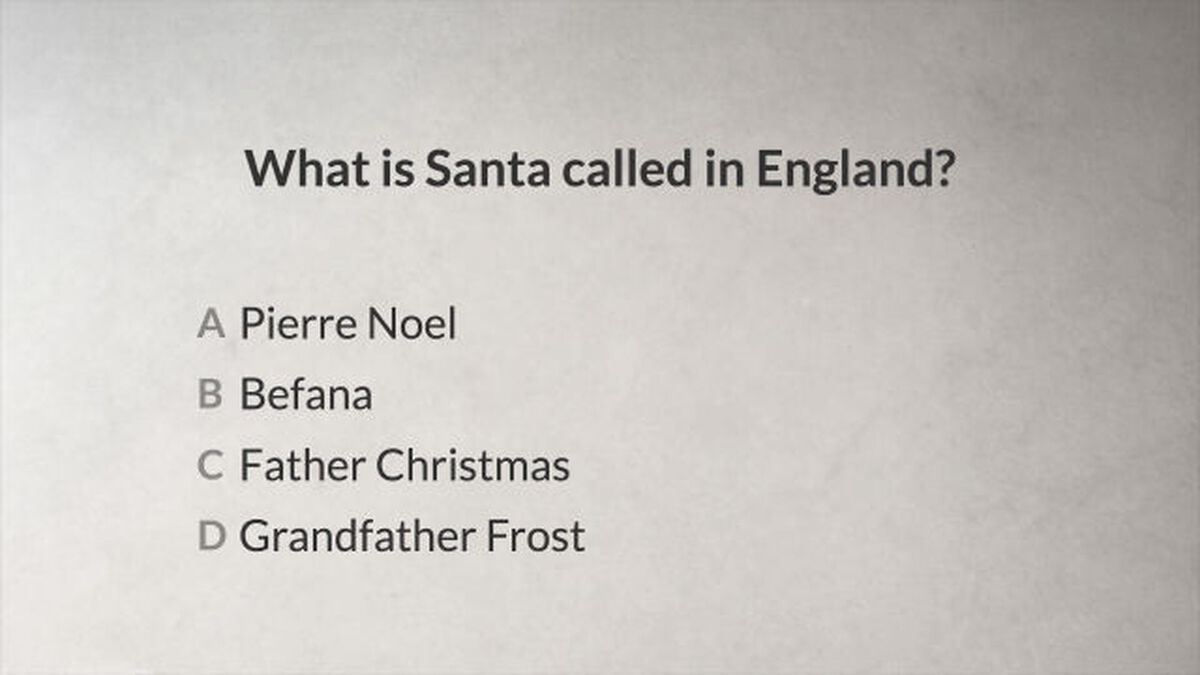 Do You Really Know Christmas? image number null