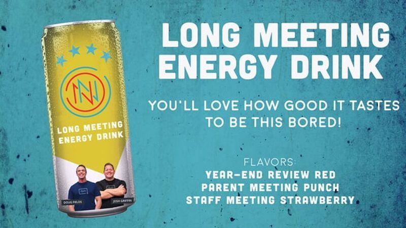 Long Meeting Energy Drink