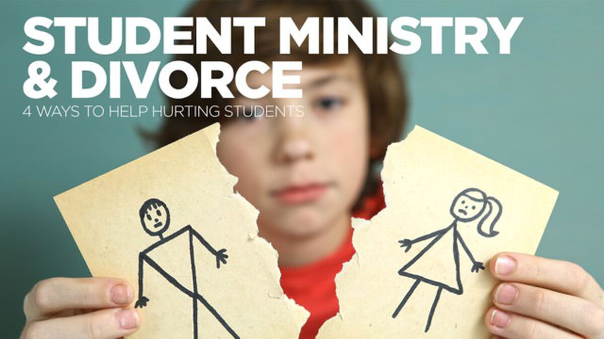 Student Ministry and Divorce: 4 Ways to Help Hurting Students image number null