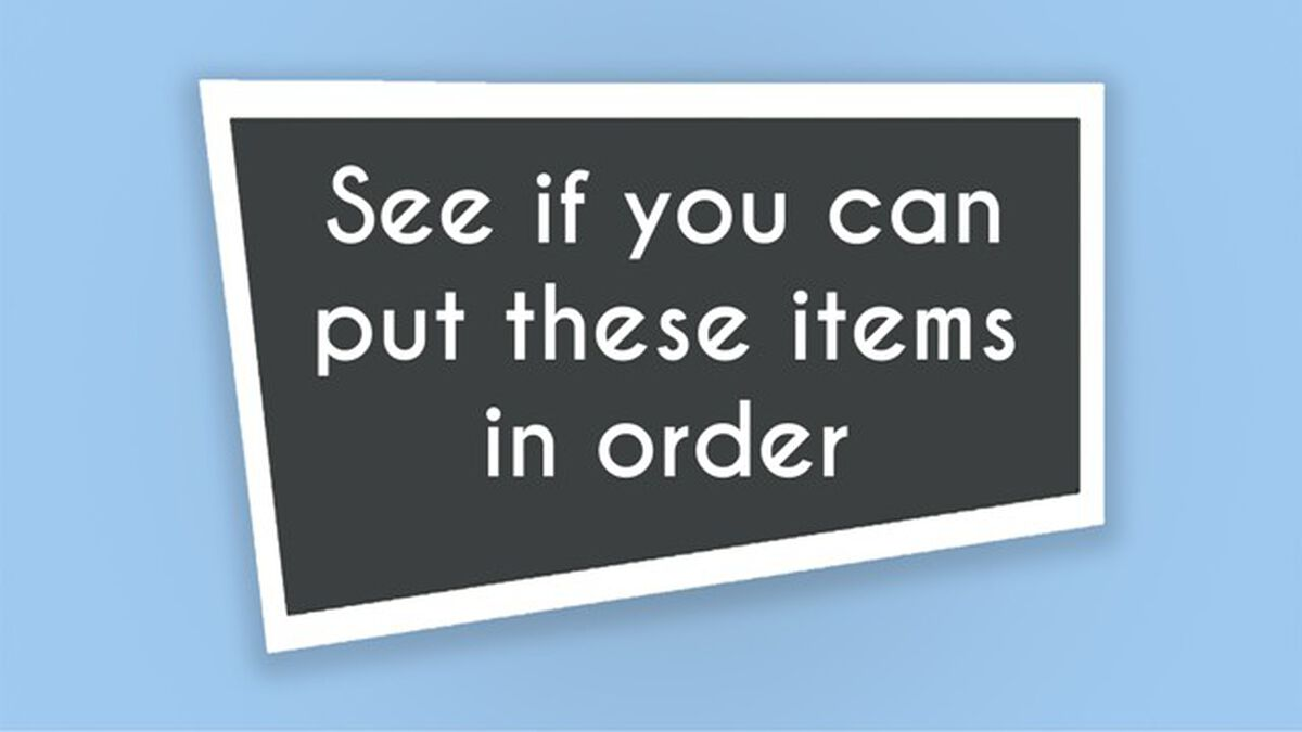 Order Up image number null