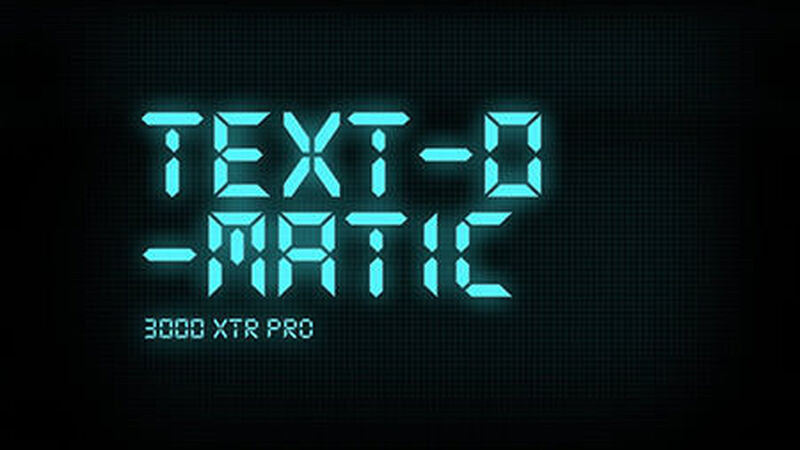Text-o-Matic