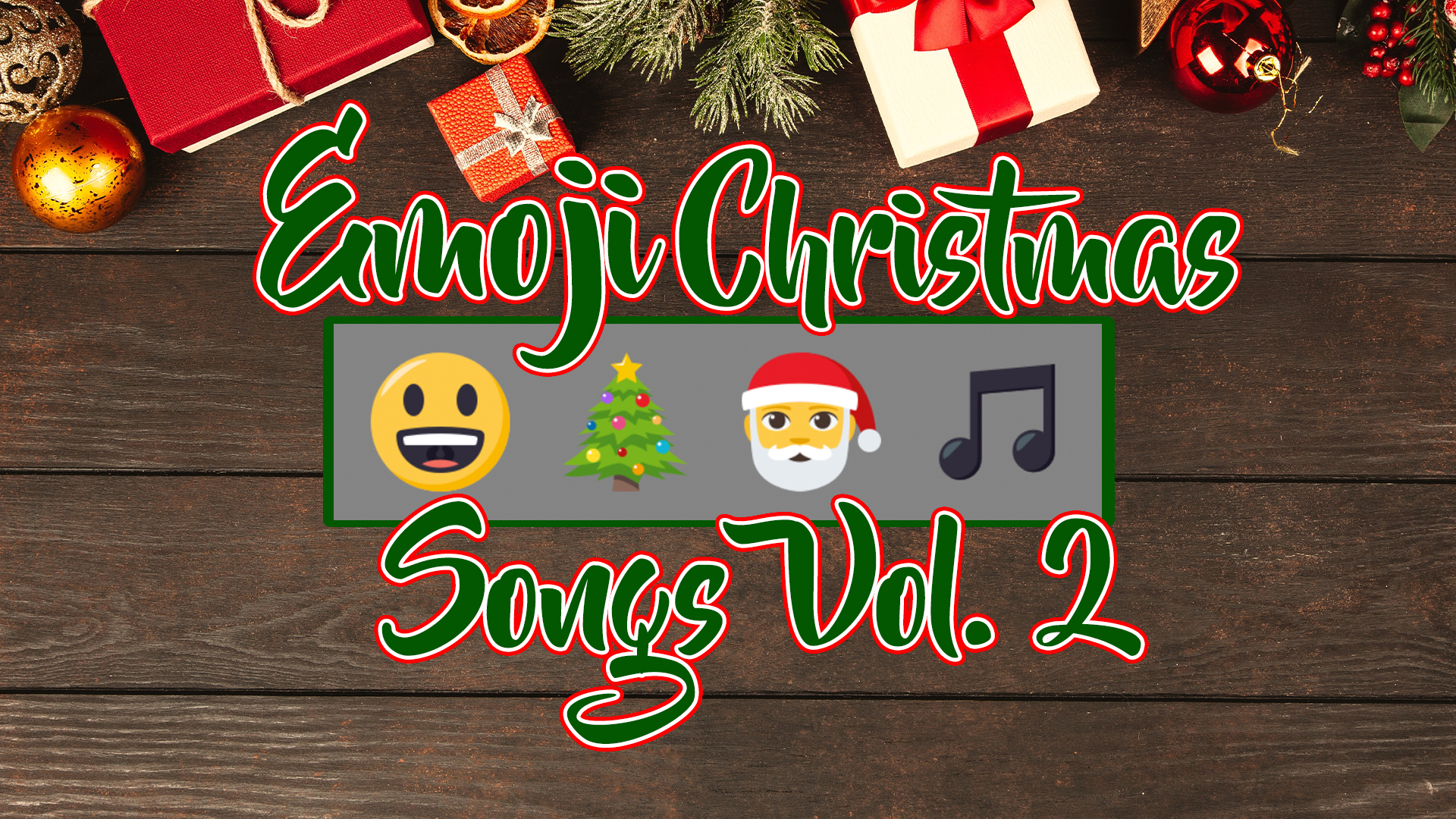Emoji Christmas Songs Volume 2
