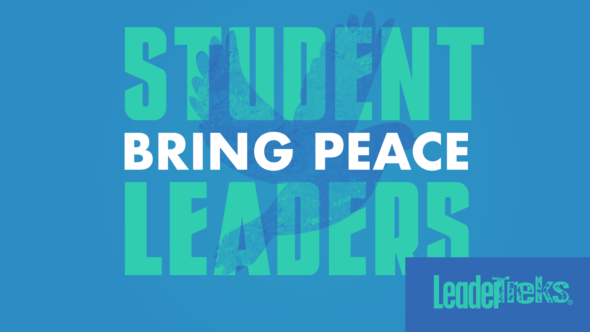 Student Leaders Bring Peace