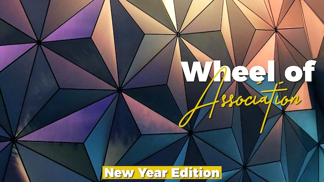 Wheel of Association: New Year Edition