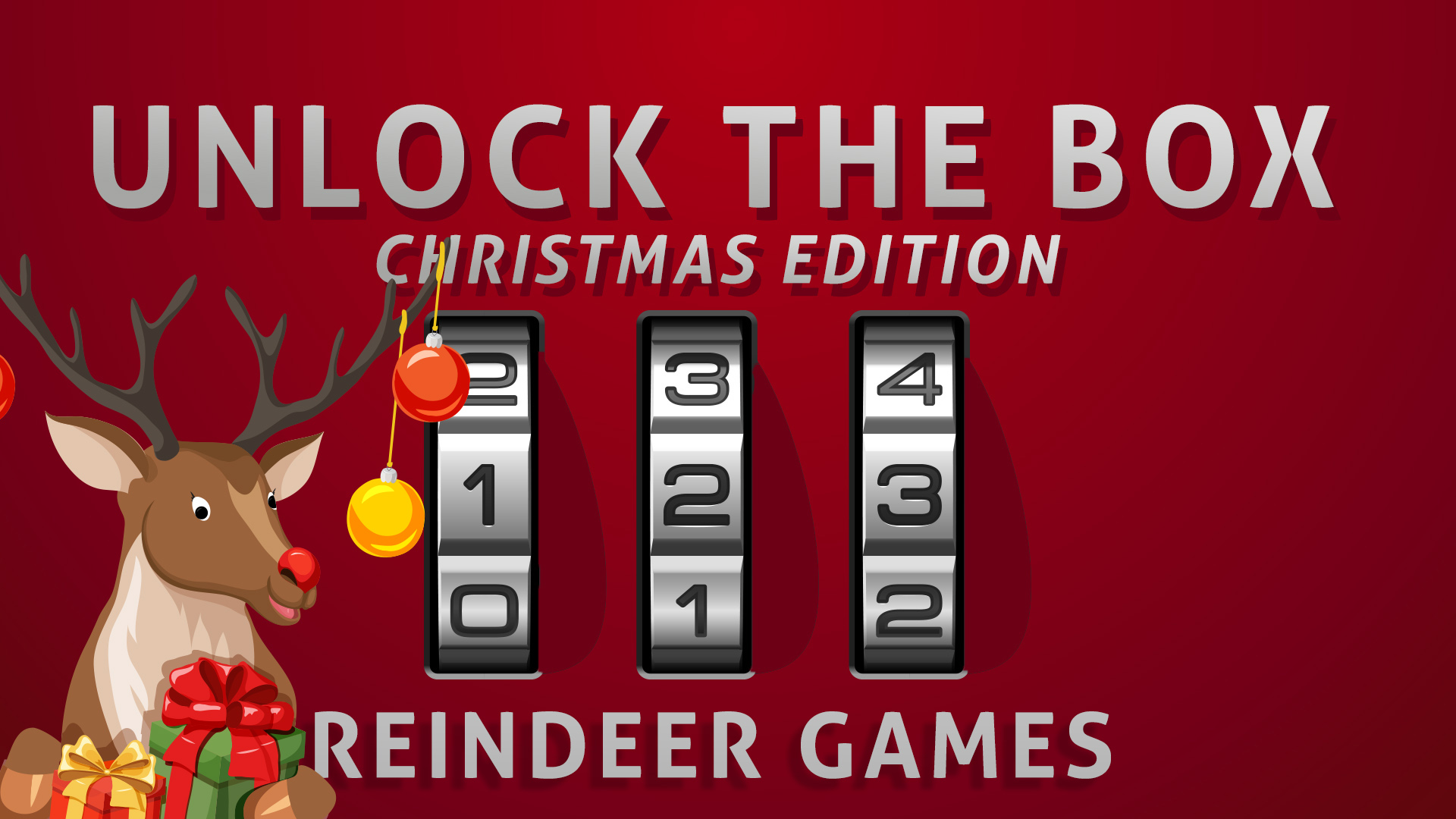 Unlock the Box Christmas Edition 2 Reindeer Games