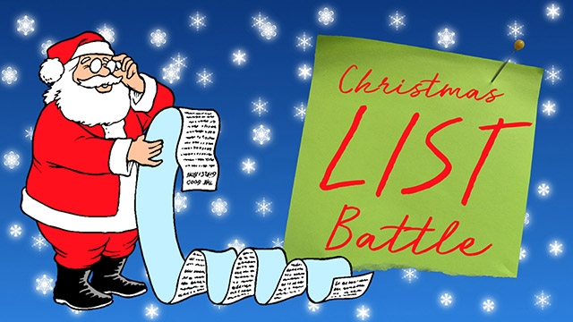 Christmas List Battle