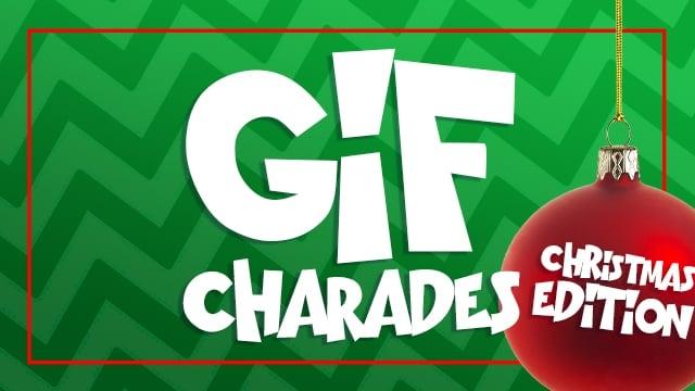 Gif Charades Christmas Edition