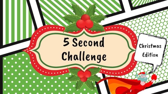 5-Second Challenge Christmas Edition